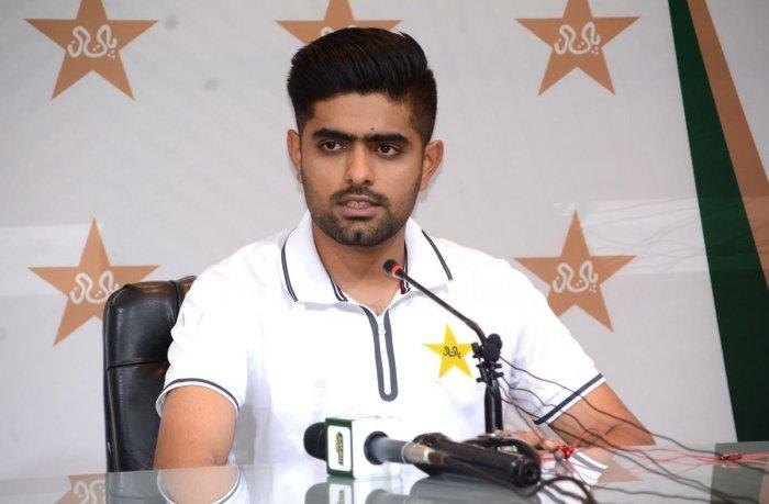 Pakistan cricket T20 captain Babar Azam. AFP Photo