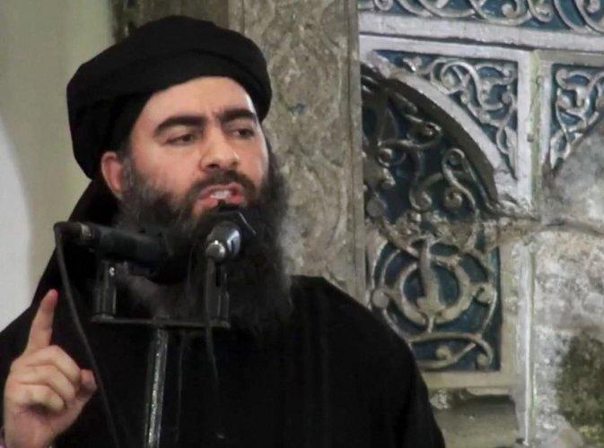 File photo of Abu Bakr al-Baghdadi. AP/PTI Photo