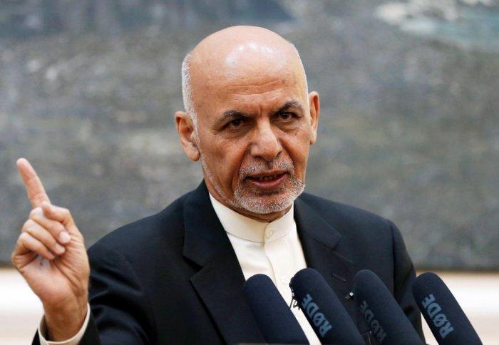 Afghan President Ashraf Ghani. Reuters file photo