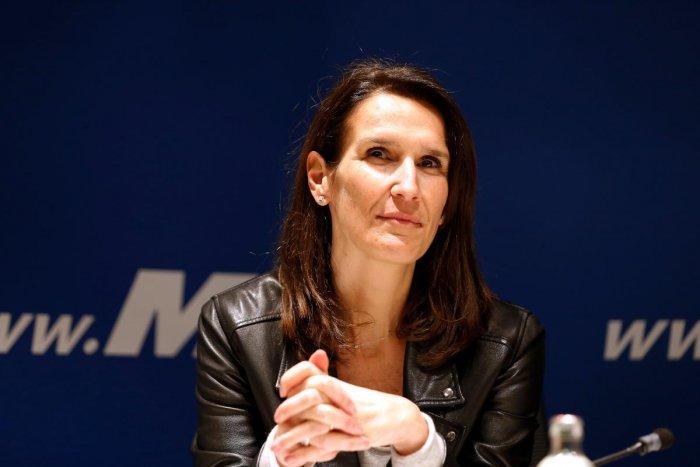 Sophie Wilmes. AFP Photo