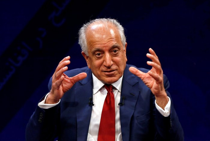 US envoy for peace in Afghanistan Zalmay Khalilzad (Reuters Photo)