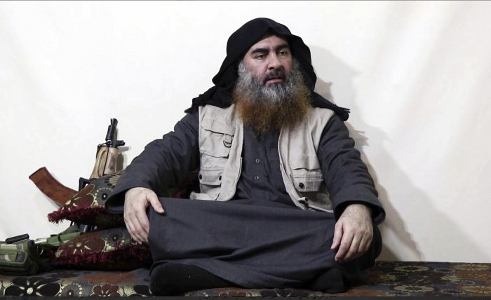 Leader of the Islamic State group, Abu Bakr al-Baghdadi. (PTI Photo)