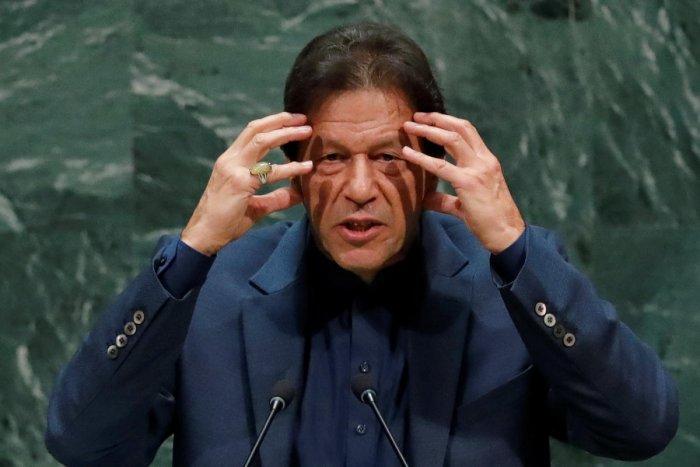 Imran Khan, Prime Minister of Pakistan. Reuters photo