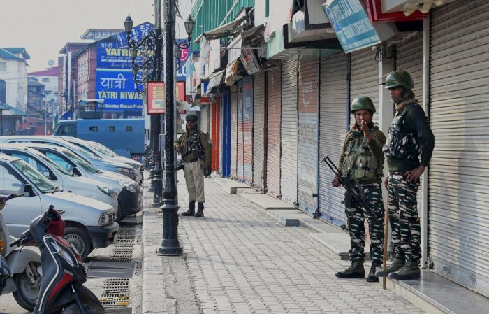 Representative image of Kashmir. PTI Photo