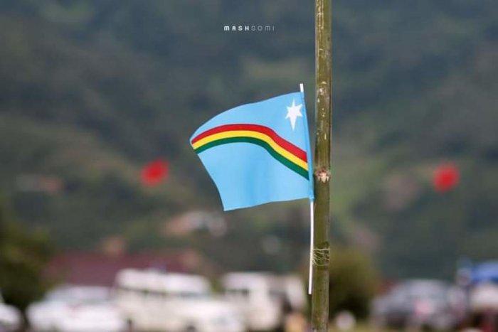 Nagaland's flag