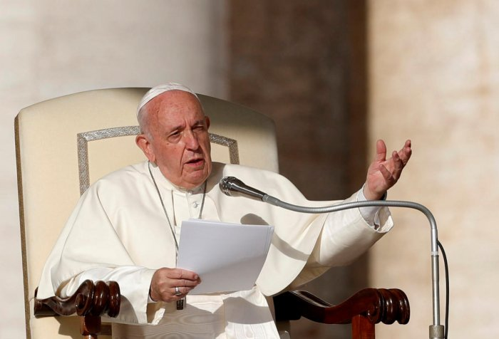 Pope Francis. Reuters file photo