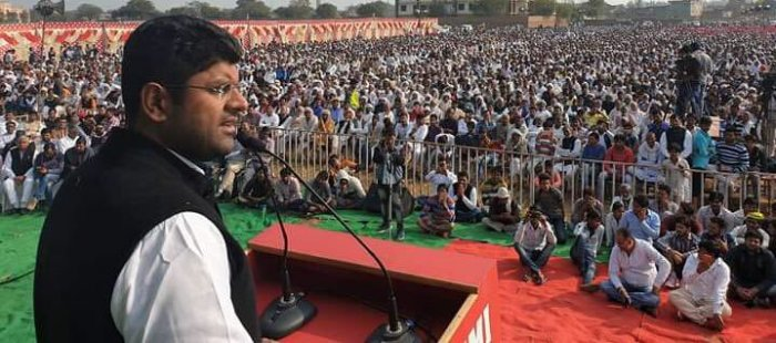 Dushyant Chautala said Devi Lal dedicated his life to improving the condition of the weaker sections of the society and the present dispensation will strive to follow the path shown by him. Photo/Twitter (@Dchautala)