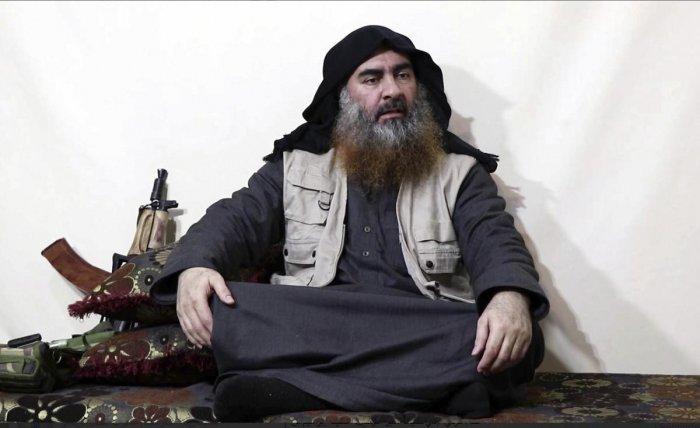 Abu Bakr al-Baghdadi. (AP-PTI File Photo)