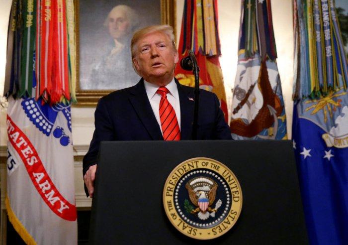 US President Donald Trump (Photo Reuters)