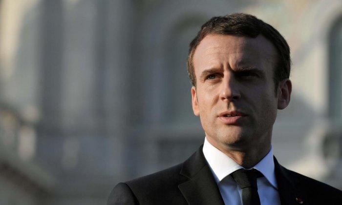 French President Emmanuel Macron. AFP Photo