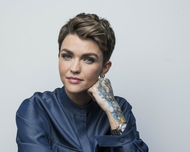 """Ruby Rose posing for a portrait in New York to promote her CW series """"Batwoman,"""" (PTI Photo)"""