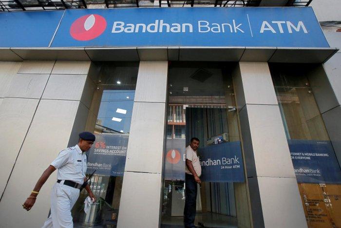 Representative image of Bandhan Bank. Reuters photo