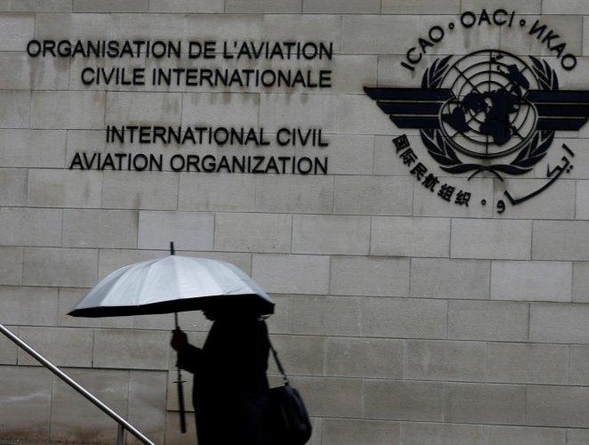International Civil Aviation Organization (ICAO). Reuters photo