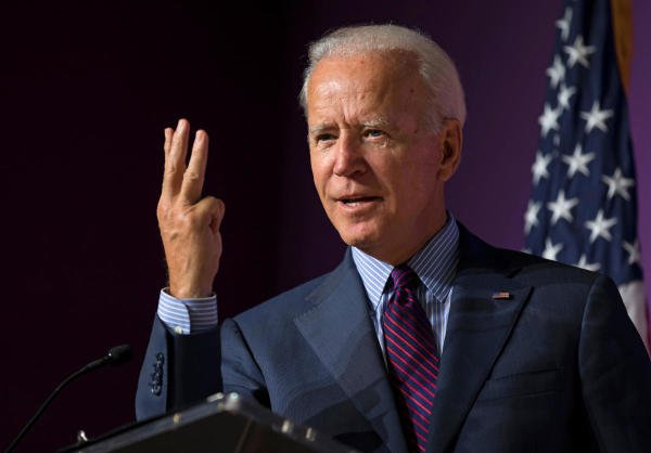 Democratic presidential aspirant Joe Biden. (Reuters photo)
