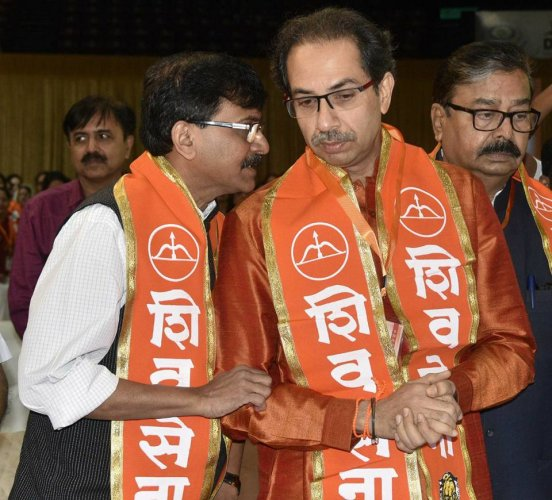 Saamana wrote against the Congress-NCP and that is why the BJP-led govt came to power in 2014. I am putting forth the Shiv Sena's stand, Raut said. Photo/Facebook (Sanjay Raut)