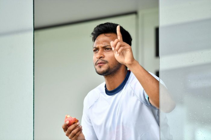 Shakib Al Hasan. AFP Photo