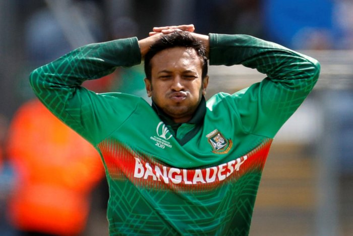 Bangladesh's Shakib Al Hasan (Photo by Reuters)