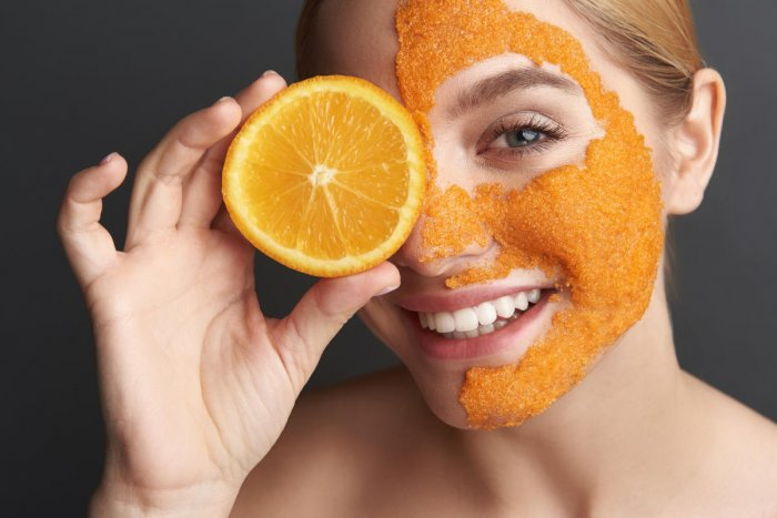 Apply a mask the night before festivities for a fresh look the next morning.