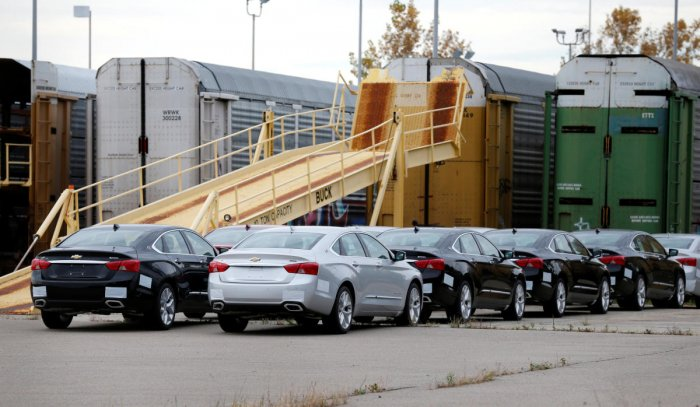 The three automakers announced Monday that they would support Washington in that legal action. (Reuters File Photo)