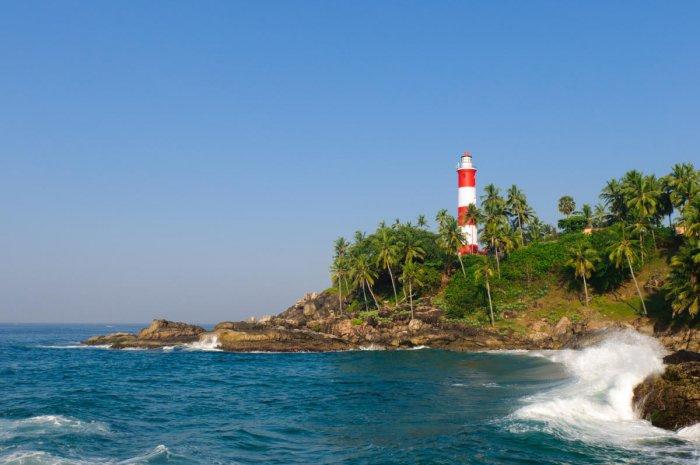 Kerala beach, a popular tourist desyination (DH Photo)