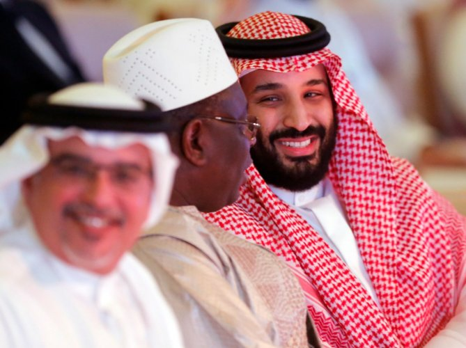 """The deals were signed on the sidelines of the Future Investment Initiative, dubbed """"Davos in the desert"""", which is an initiative of Saudi Crown Prince Mohammed bin Salman. Photo/Twitter"""