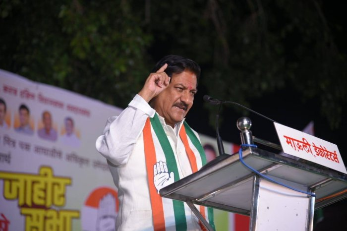 We have not received any concrete proposal from the Shiv Sena. We will not take a lead on it. But if a concrete proposal comes from the Sena, we will consider it and discuss it with the high command, said senior Congress leader Prithviraj Chavan. Photo/Facebook (Prithviraj Chavan)