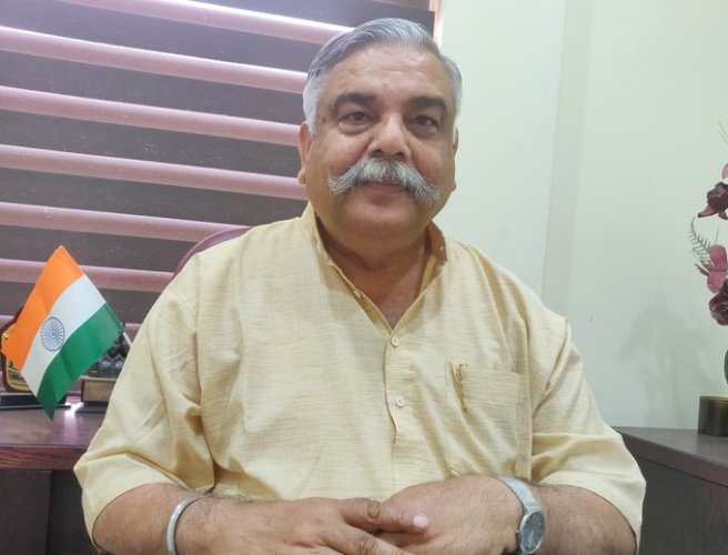"""The anti-national forces are hell-bent to ruin the major sources of Kashmiri economy like tourism and horticulture,"" said BJP's state spokesperson Brig (Retd) Anil Gupta. Photo/Twitter (@BJP4JnK)"