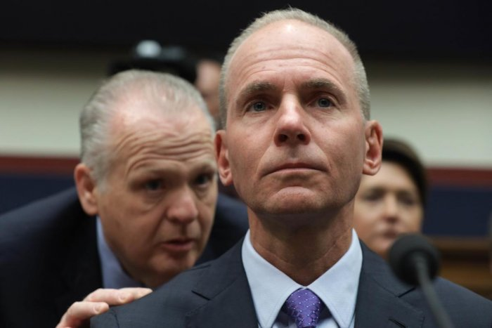 Dennis Muilenburg, president and CEO of the Boeing Company. AFP Photo