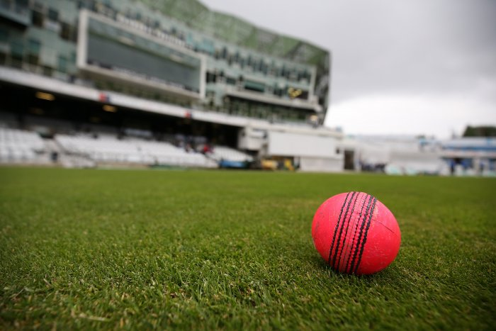 Producing a ball fit for a Test match under lights is a big challenge for SG as its pink ball is yet to be tested in a competitive game. Photo/Getty