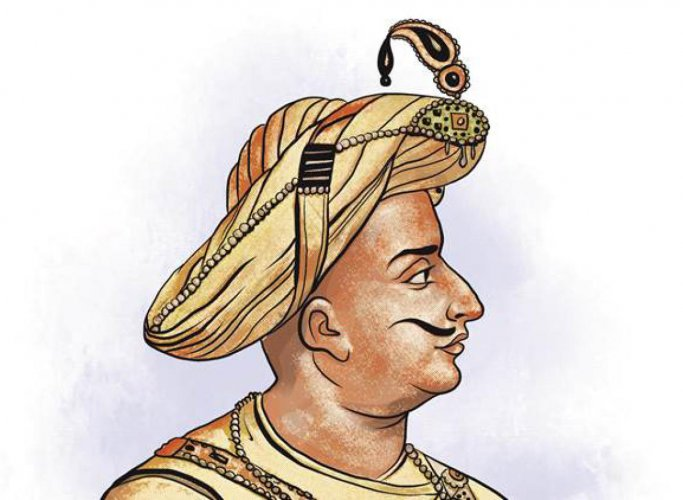 A sketch of Tipu Sultan