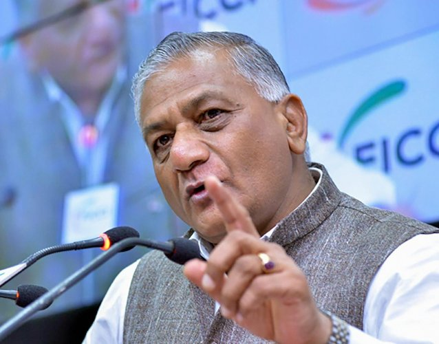 Union Minister V K Singh said infrastructure and highways are the most profitable sector and the government is looking at monetising various aspects of the road sector. Photo/PTI