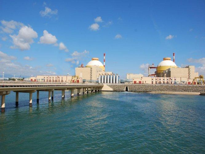 Kudankulam Nuclear Plant in Tirunelveli district (PTI Photo)