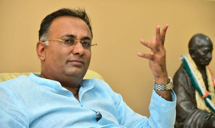 KPCC president Dinesh Gundu Rao