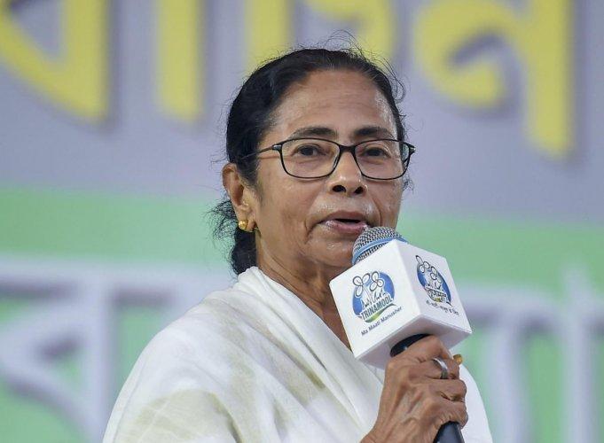West Bengal Chief Minister and TMC supremo Mamata Banerjee. PTI Photo