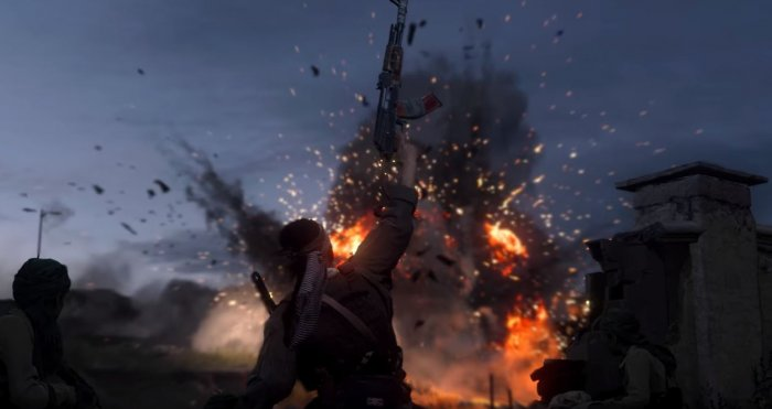 "A still from the game ""Call of Duty: Modern Warfare"". Screenshot: YouTube"