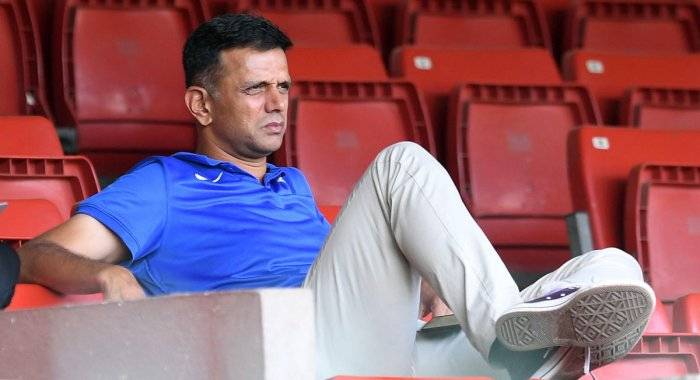 Chairman of National Cricket Academy and former India captain Rahul Dravid (DH Photo)