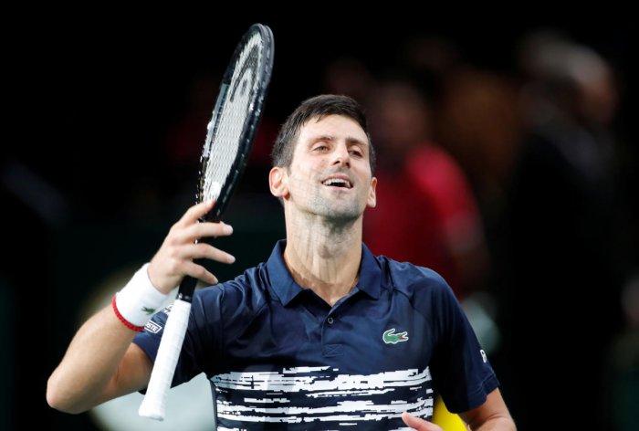 Novak Djokovic (Reuters Photo)