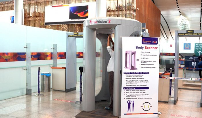 Upon successful completion of trials and subsequent regulatory approvals, Body Scanners will be installed across the terminal for security check. (DH Image)