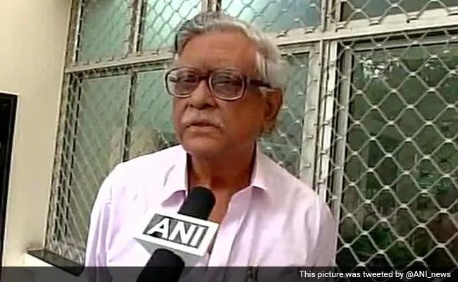CPI leader and former MP Gurudas Dasgupta (ANI Photo)