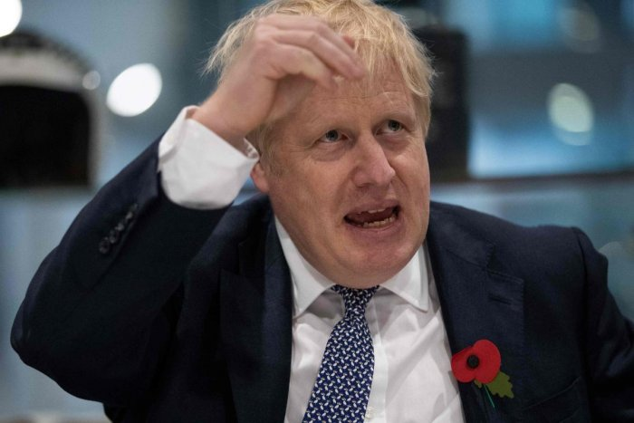 Britain's Prime Minister Boris Johnson (AFP Photo)