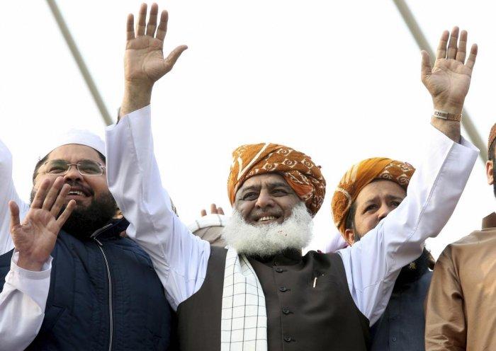 Pakistani cleric Maulana Fazlur Rehman (AP/PTI)