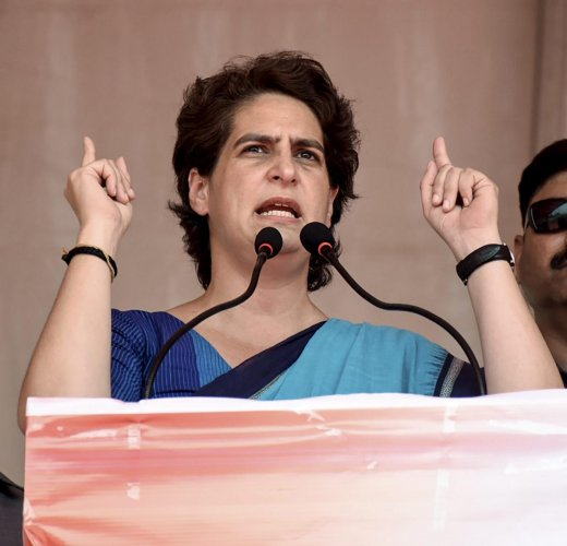 Congress General Secretary Priyanka Gandhi Vadra (PTI Photo)