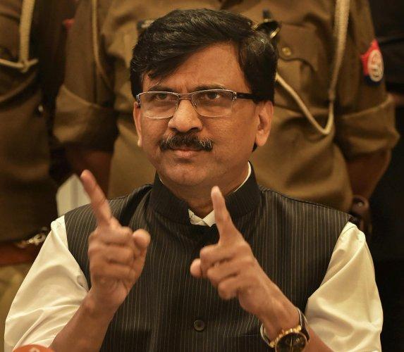 Shiv Sena's Rajya Sabha MP Sanjay Raut (PTI Photo)