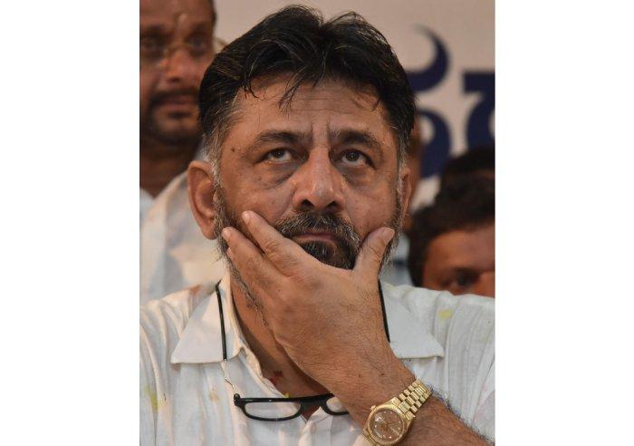 Karnataka Congress leader D K Shivakumar (Photo by Janardhan B K)
