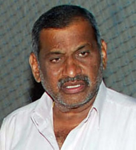Law Minister J C Madhuswamy.