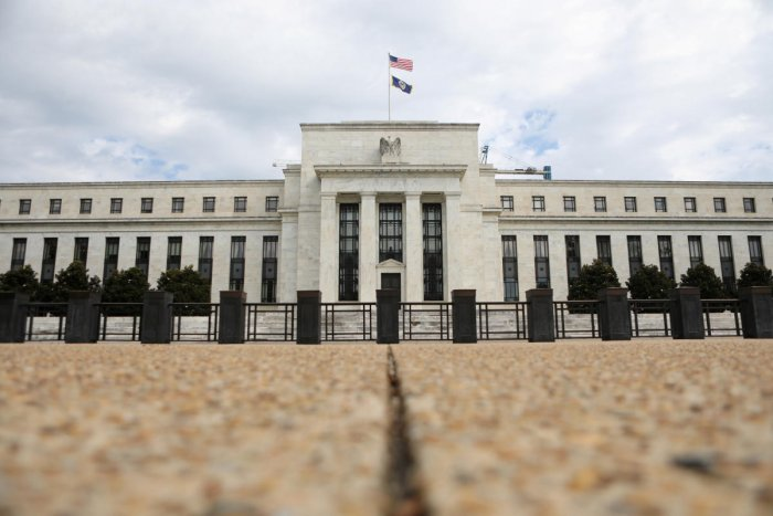 The Federal Reserve building is pictured in Washington D.C. (Reuters Photo)