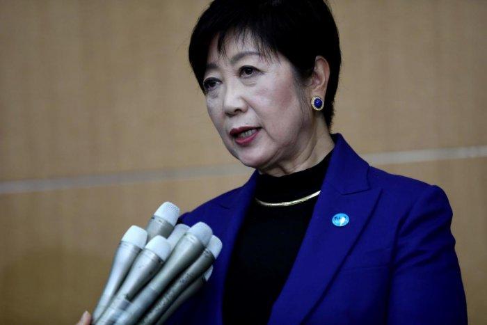 Tokyo Governor Yuriko Koike (AFP Photo)
