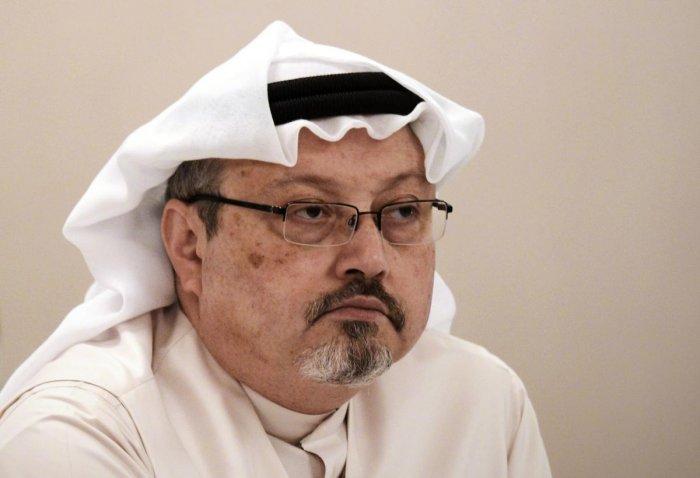 Saudi journalist Jamal Khashoggi, whose murder once again brought forth the vulnerability of journalists. AFP Photo