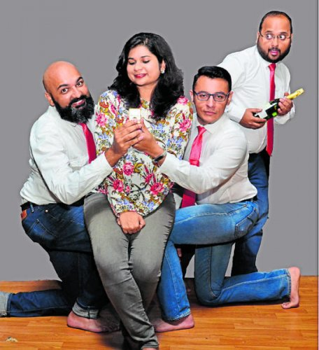 'Bandar ke haath champagne' will be staged in the city on November 10.
