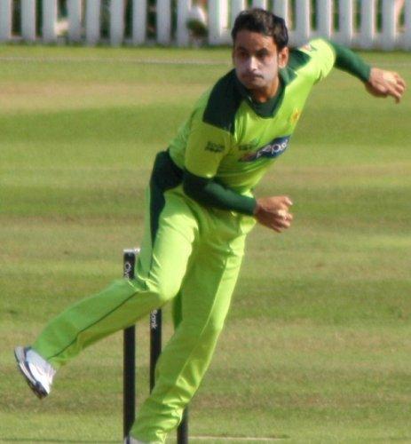 Muhammad Hafeez (Photo Wikipedia)
